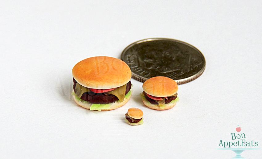 1:12, 1:24, 1:48 Cheeseburgers by Bon-AppetEats