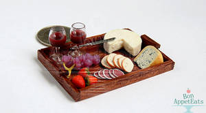 1:12 Cheese and Wine Tray
