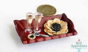 1:12 Champagne, Caviar, and Crackers
