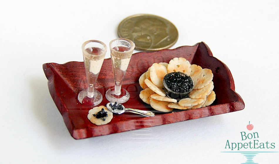 1:12 Champagne, Caviar, and Crackers by Bon-AppetEats