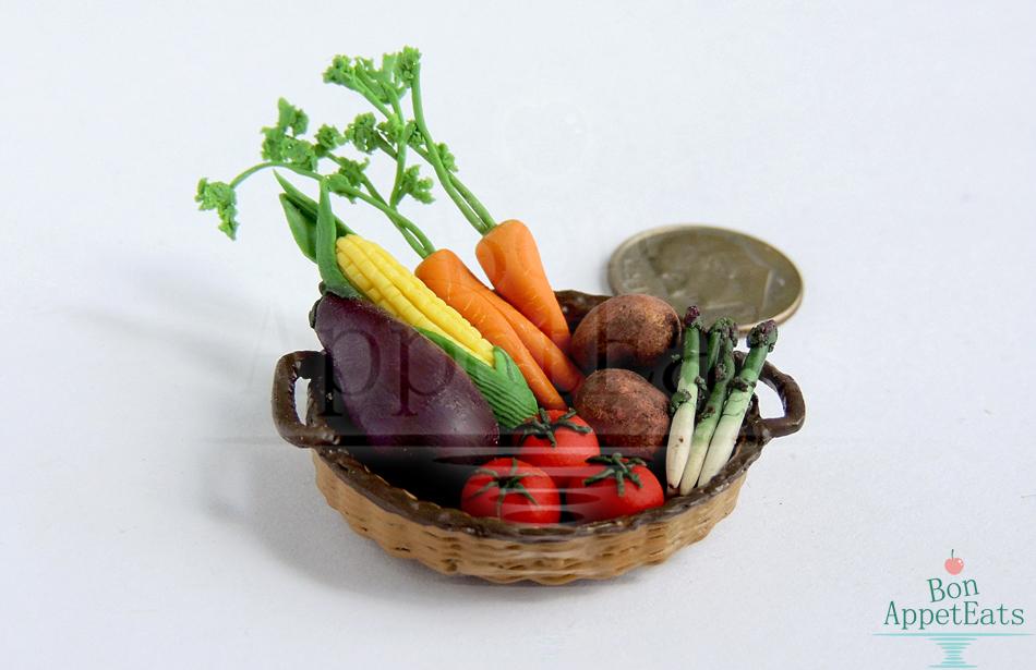 1:12 Vegetable Basket by Bon-AppetEats