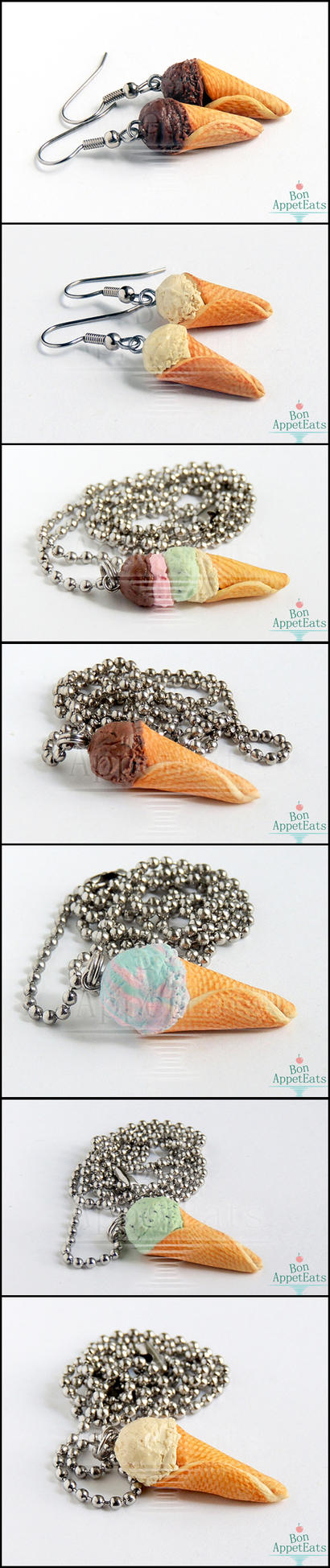 Ice Cream Jewelry by Bon-AppetEats