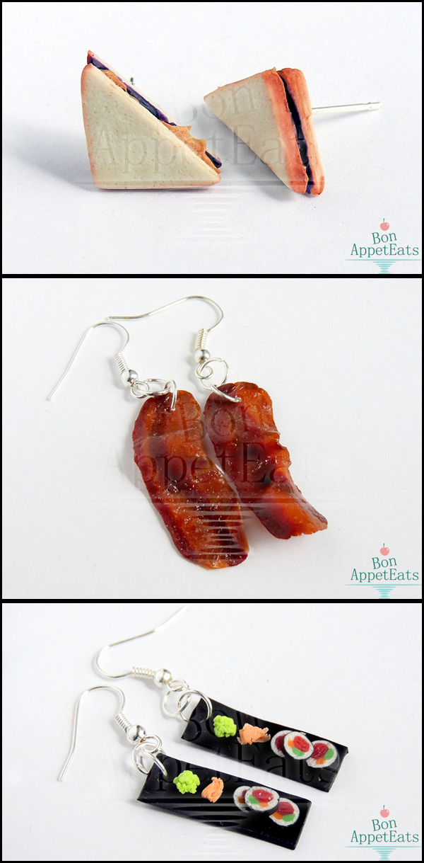 Savory Earrings by Bon-AppetEats