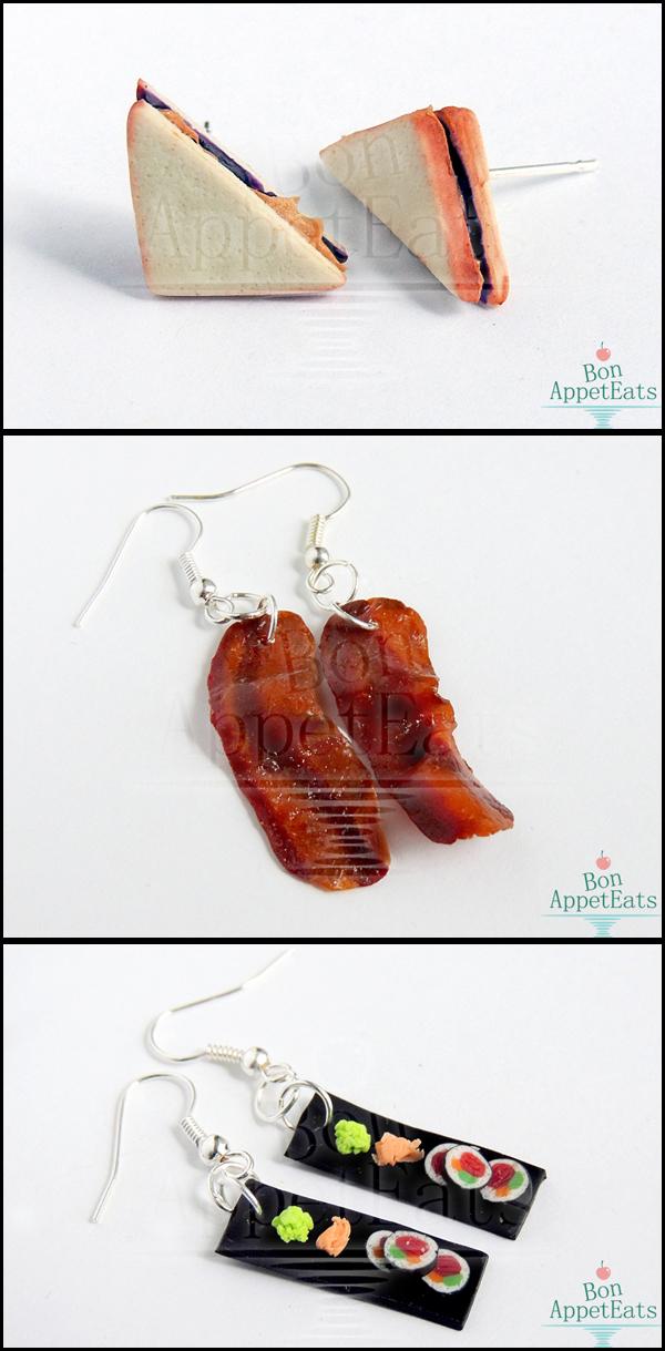 Savory Earrings by Bon-AppetEats