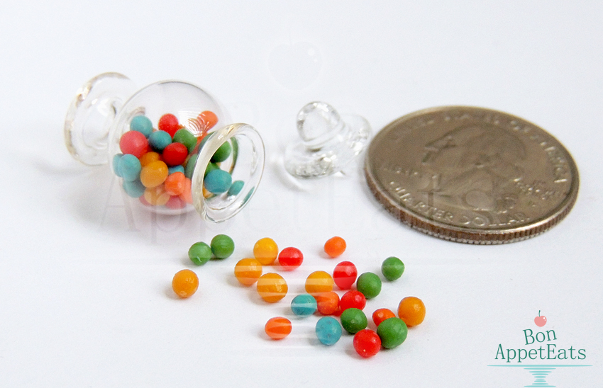 1:12 Gumball Jar by Bon-AppetEats