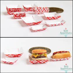 1:12 Paper Trays by PepperTreeArt