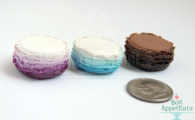 1:12 Ombre Ruffle Cakes by Bon-AppetEats