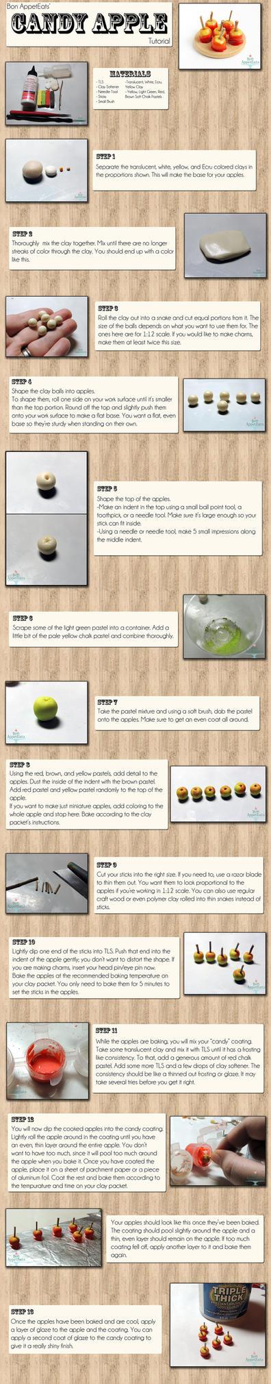 Tutorial: Miniature Candy Apples by Bon-AppetEats