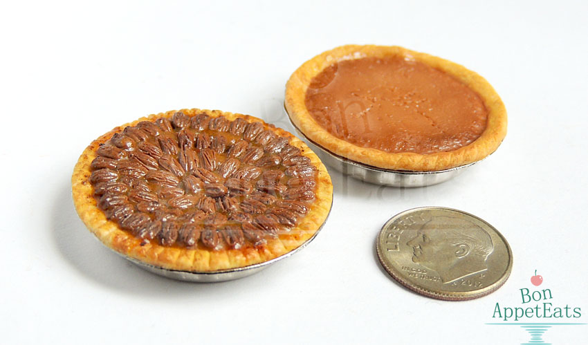 1:12 Pecan and Pumpkin Pies by Bon-AppetEats