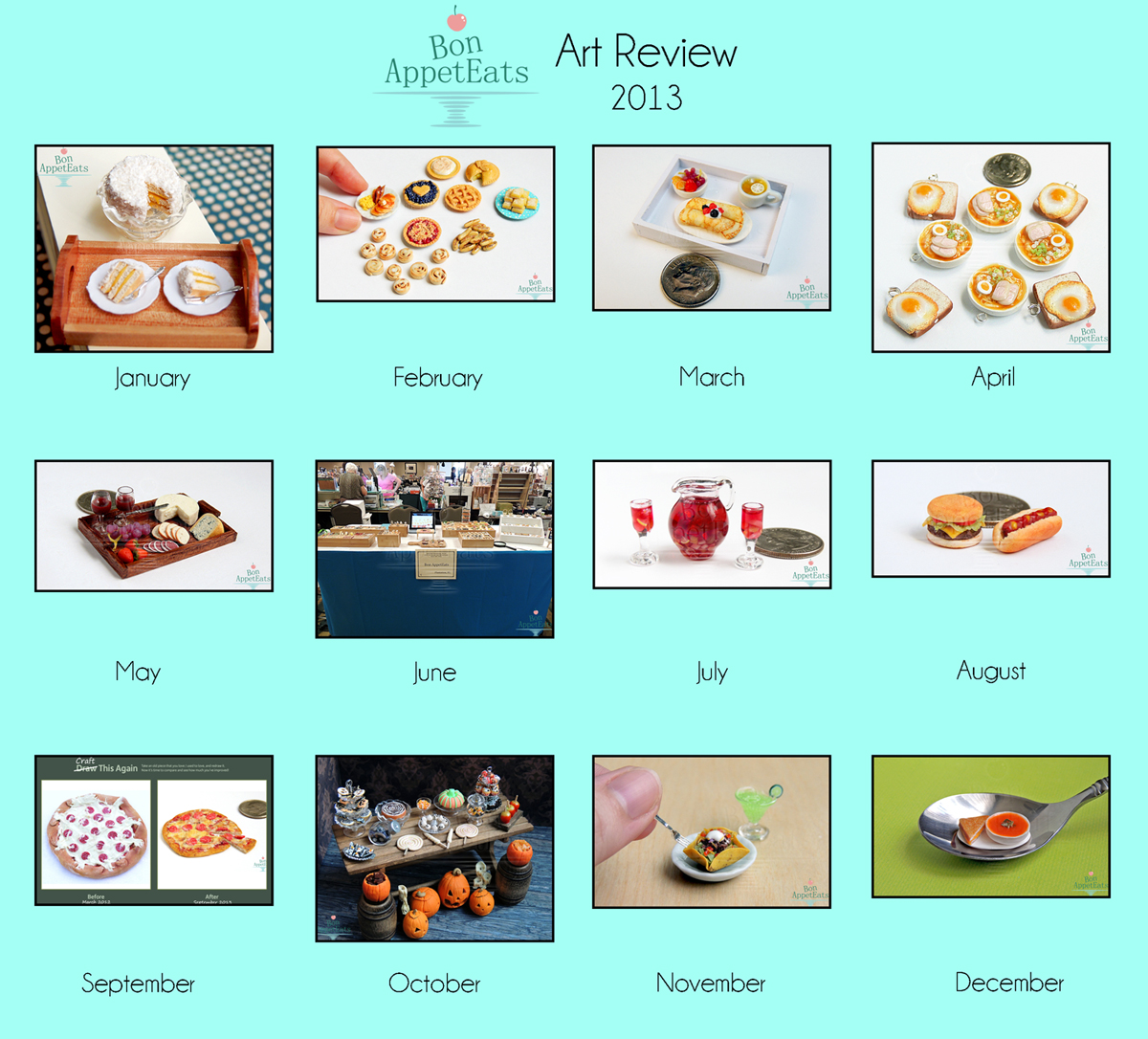 2013 Art Review by Bon-AppetEats
