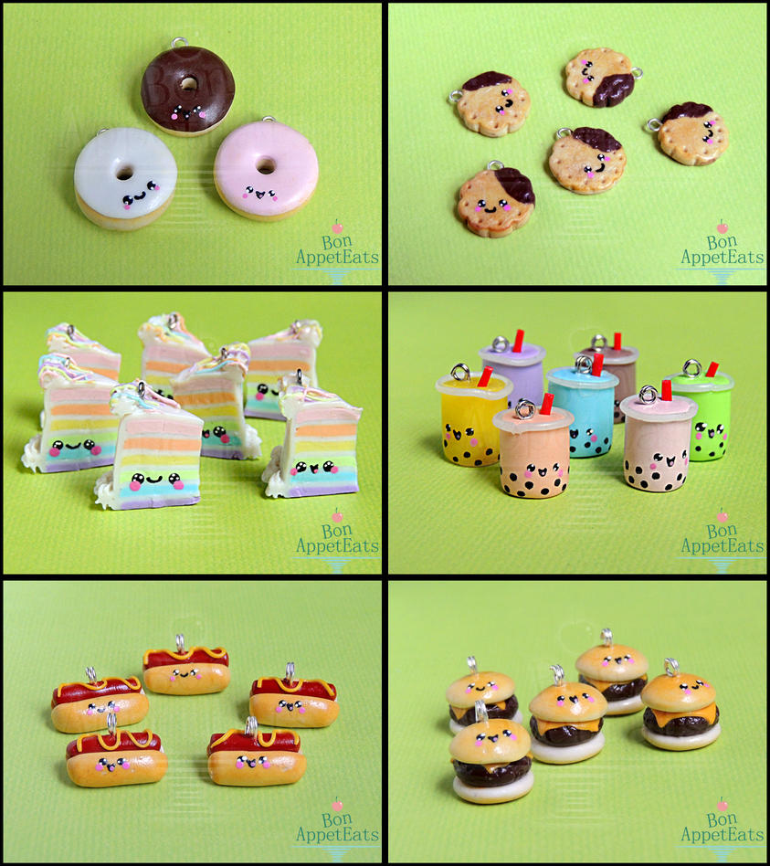 AnimateMiami Cute Food, Set 2 by Bon-AppetEats