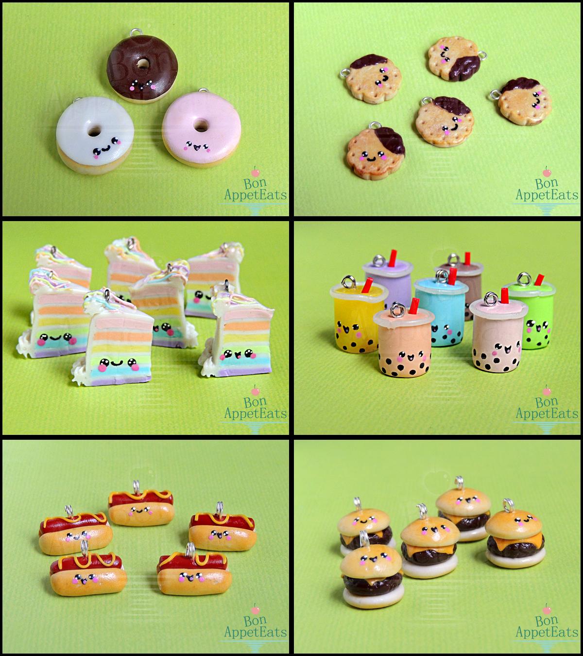 AnimateMiami Cute Food, Set 2 by Bon-AppetEats