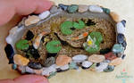 Miniature Koi Pond