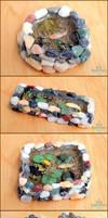 Miniature Koi Ponds, Set 1