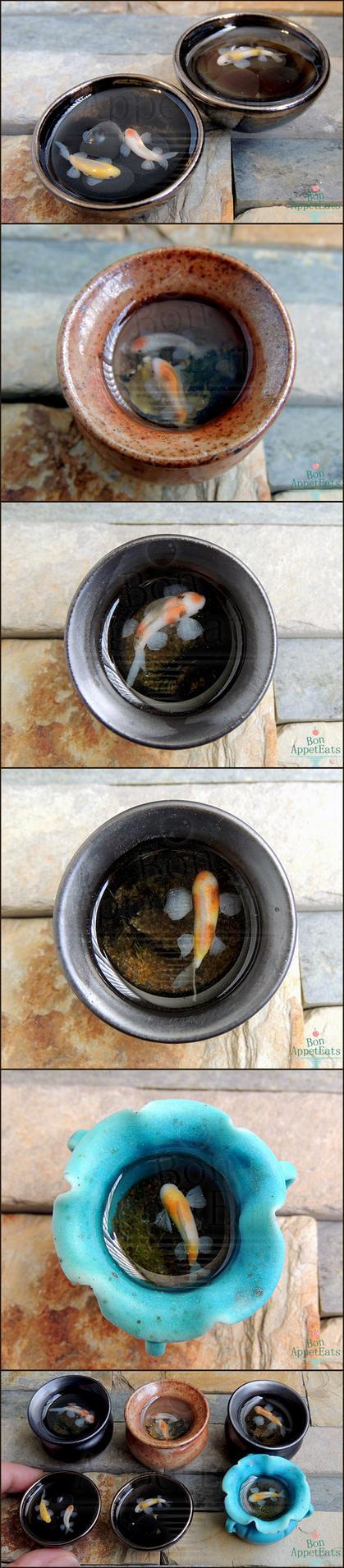 1:12 Koi Pots by Bon-AppetEats
