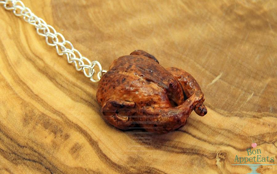 Roast Chicken Necklace by Bon-AppetEats