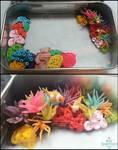 Miniature Coral Reef Tin WiP