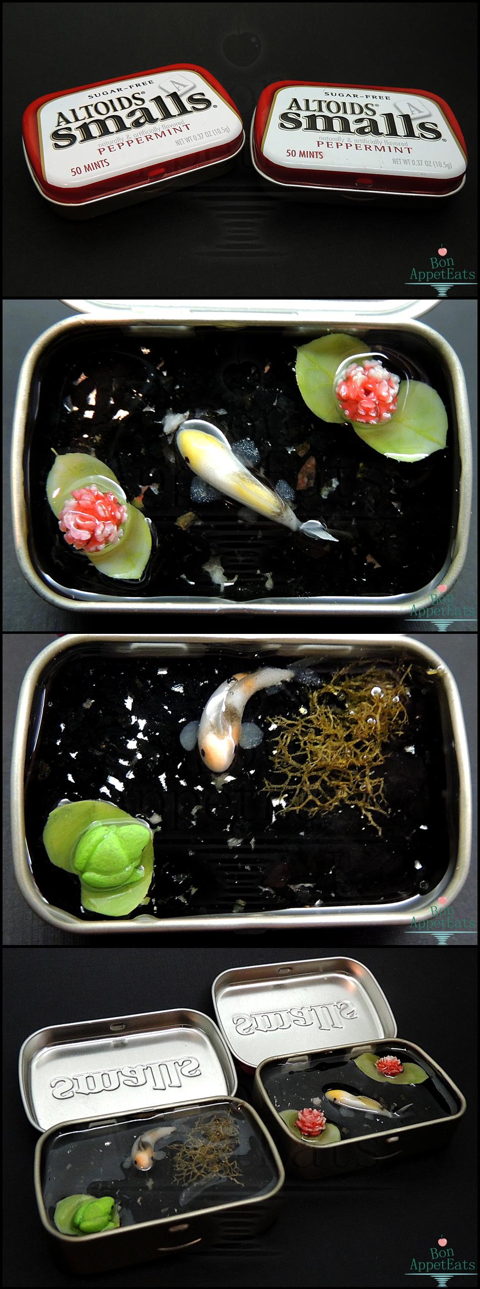 Small Tin Ponds, Set1 by Bon-AppetEats