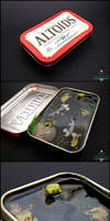 Auction Ended - Large Altoids Tin Koi Pond