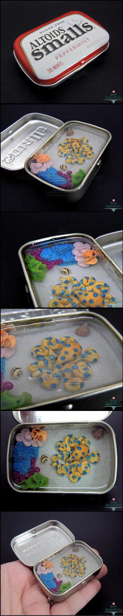 Commission: Octopus Altoids Smalls Tin by Bon-AppetEats