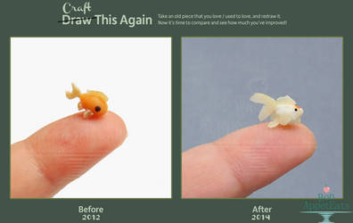 Craft This Again: Goldfish by PepperTreeArt