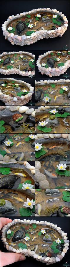 Commission: Large Stone Pond
