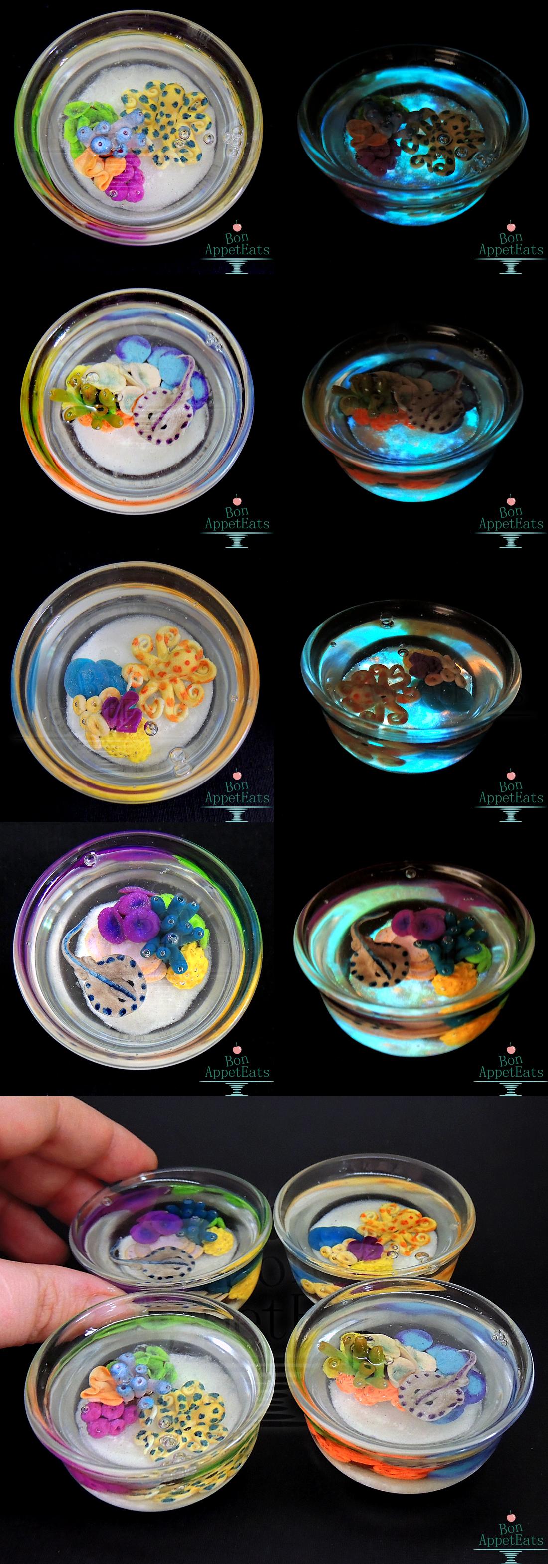 Glow in the Dark Reef Glass Cups by Bon-AppetEats