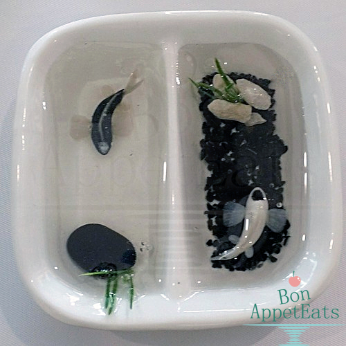 Yin yang miniature koi pond by bon appeteats on deviantart for Yin and yang koi fish