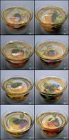 Miniature Betta Cups (Fake Fish!)