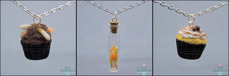 Halloween Necklaces, Set 1 by Bon-AppetEats