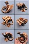 Gift: Bronze and Black Dragon Dice Holder
