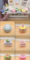1:6 Cake and Cupcake Commission Details