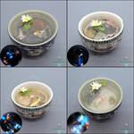 New Miniature Sake Cup Ponds