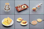 Sale - Dollhouse Scale Foods