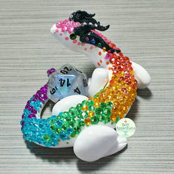 Rainbow Dragon Dice Holder