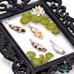 eBay Auction - Framed Miniature Koi Pond