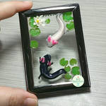 Axolotl Picture Frame Pond