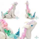 Small Rainbow Crystal Dragon