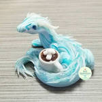 Commission - Small Ice Dragon Sculpture