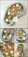 Commission - Miniature Stone Koi Pond