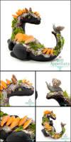 Spruce - Forest Dragon Sculpture