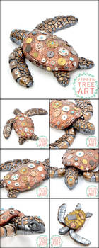 Steampunk Sea Turtle