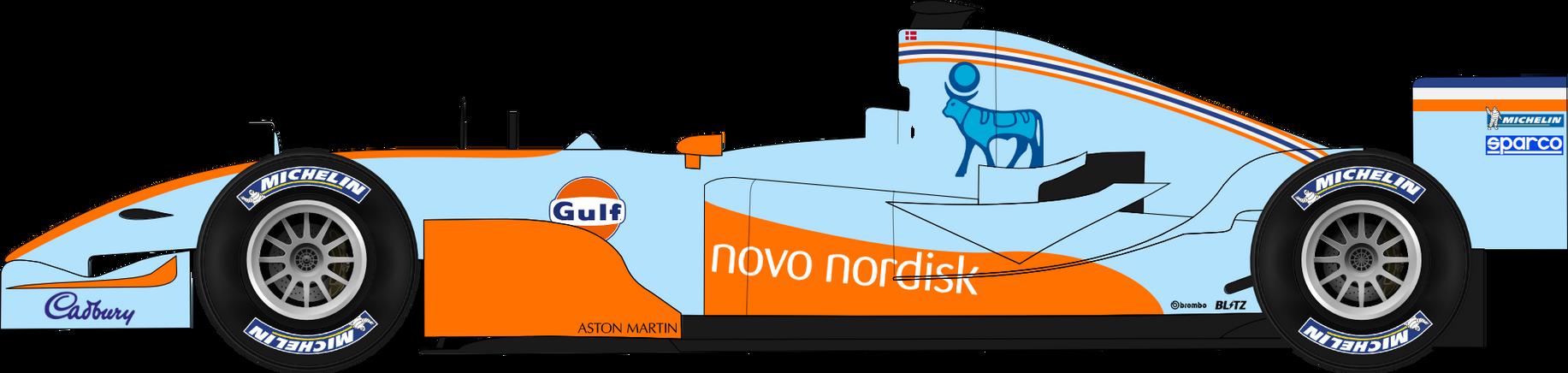 Aston Martin Gulf Racing by rasmv