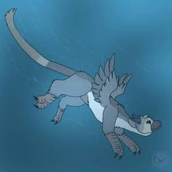 Aquatic beast