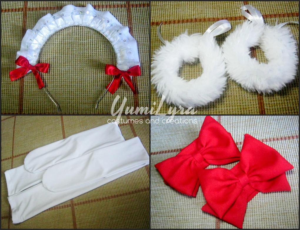 Honoka(mogyutto) accessories by Yumi by YumiLyra