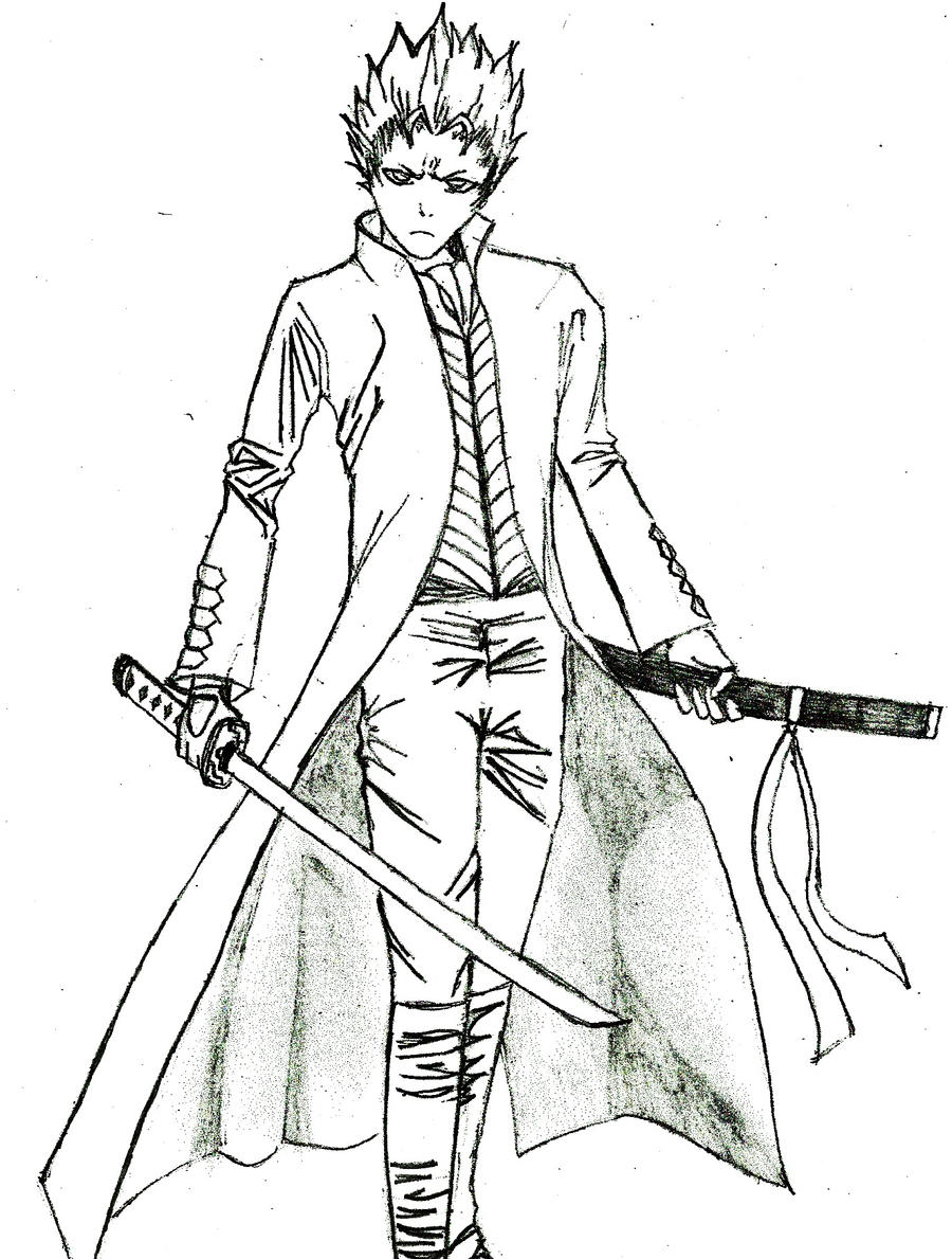 devil may cry coloring pages - photo#35