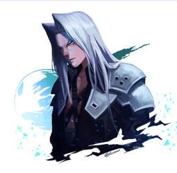 [FFVII Remake] Sephiroth by Hirisson