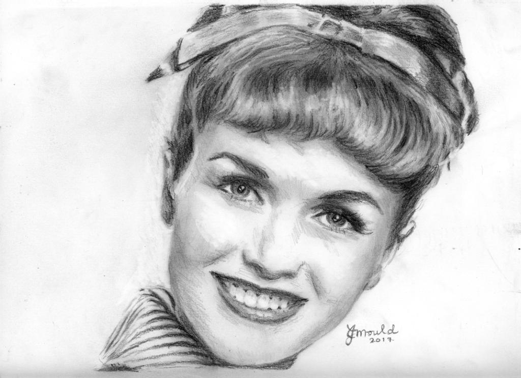 Debbie Reynolds by Jojemo