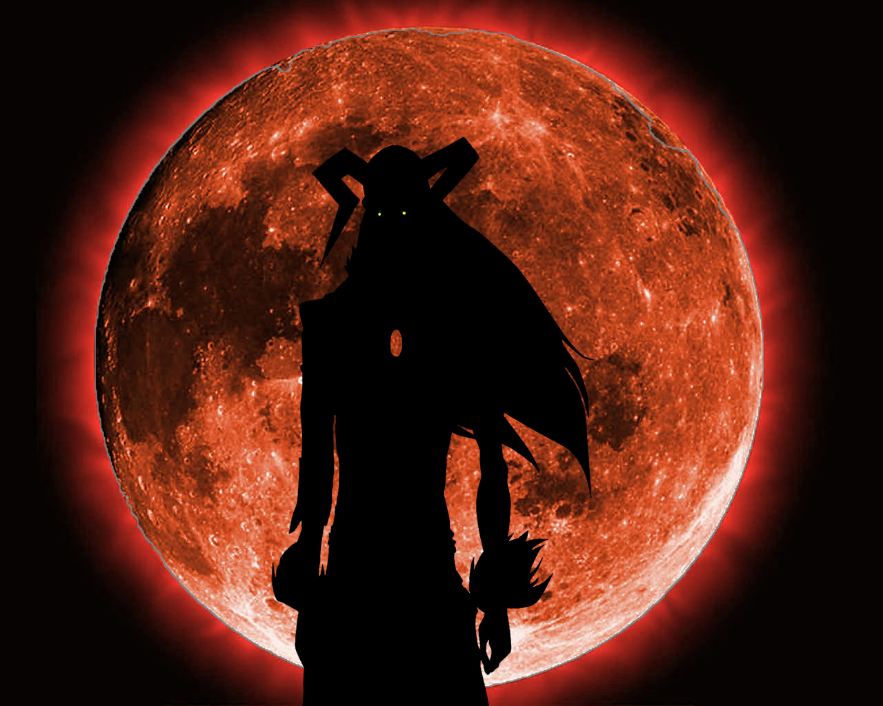 Bleach Ichigo Hollow Demon Form Wallpaper