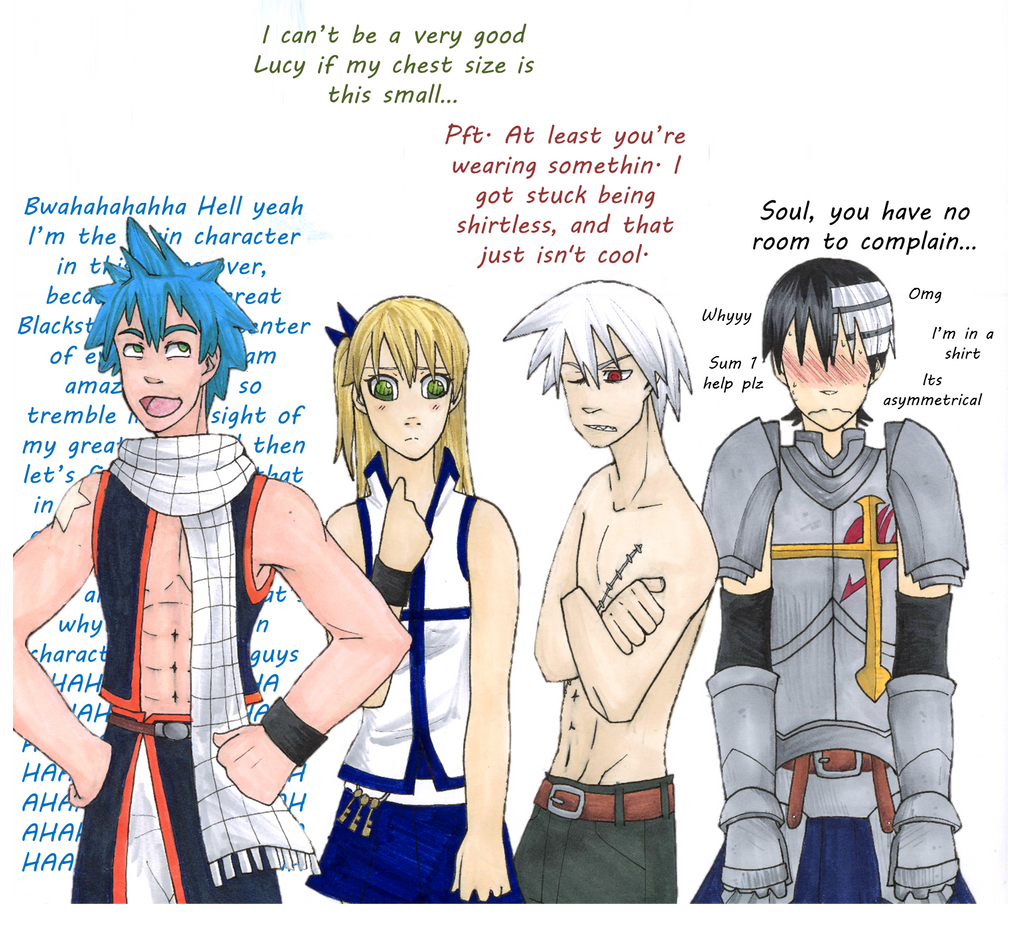 Soul Eater Meets Fairy Tail by Lana2452 on DeviantArt - photo#25